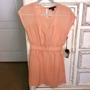 NWT Forever 21 Peach dress